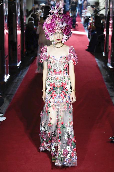 Неделя моды в Милане: секретный показ Dolce and Gabbana. Фото