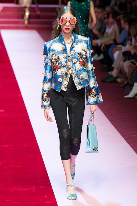 Неделя моды в Милане: открытый показ Dolce and Gabbana. Фото