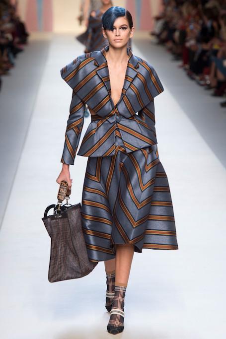 Неделя моды в Милане: Fendi весна-лето 2018. Фото