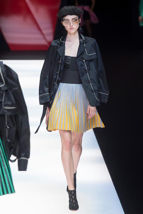 Неделя моды в Милане: Giorgio Armani весна-лето 2018. Фото