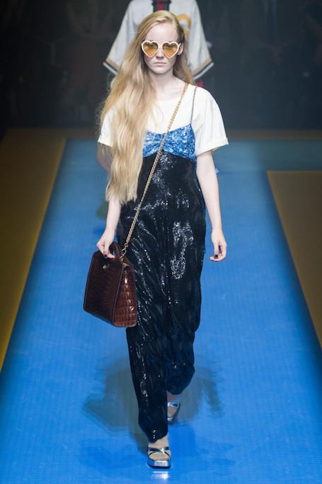 Неделя моды в Милане: показ Gucci весна-лето 2018. Фото