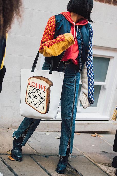 Неделя моды в Лондоне: модный бунт и эклектика в street style. Фото