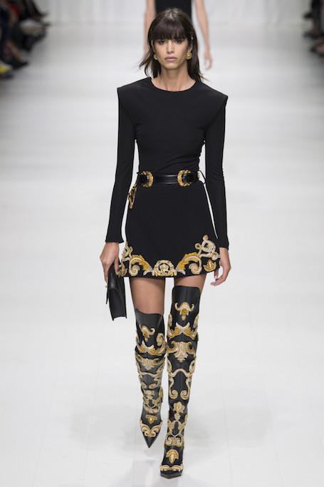 Неделя моды в Милане: показ Versace. Фото