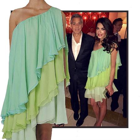 Афтепати в Венеции: Амаль Клуни надела невероятное ретро-платье 1967 года. Фото