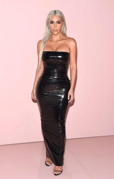 Вива, теледива: Ким Кардашьян в латексном платье и с новой прической! Фото