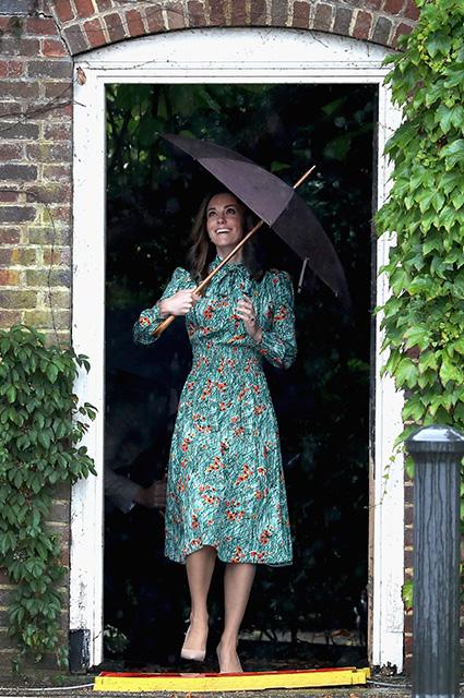 Кейт Миддлтон собирается рожать третьего ребенка в Кенсингтонском дворце. Фото
