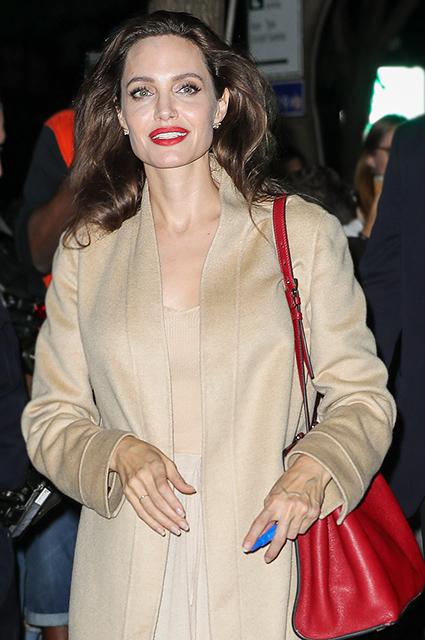 Невероятно притягательна: перед Анджелиной Джоли не устояли даже охранники! Фото