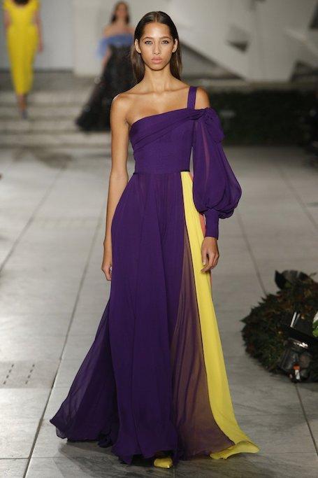 Неделя моды в Нью-Йорке: женственный показ Carolina Herrera. Фото