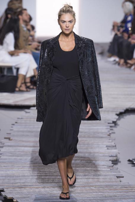 Неделя моды в Нью-Йорке: Michael Kors Collection весна-лето 2018