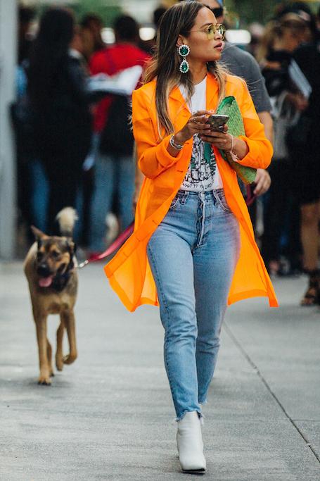 Street style на Неделе моды в Нью-Йорке: идеи для самых смелых! Фото