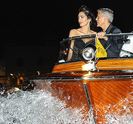 Отдых в Венеции: Джордж и Амаль Клуни показали, что такое настоящий шик. Фото