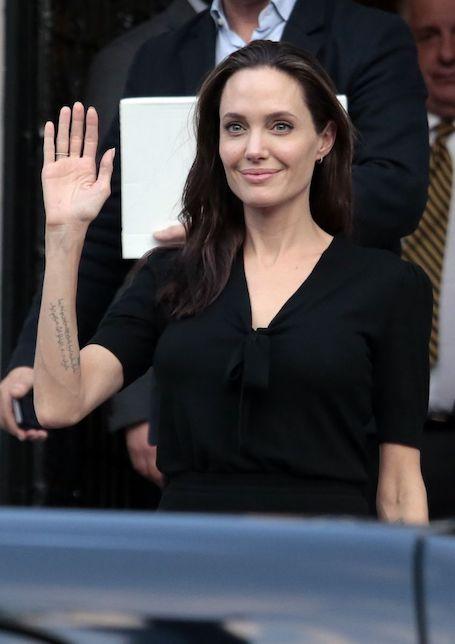Шокирующие факты: Анджелина Джоли ест один раз в три дня! Фото