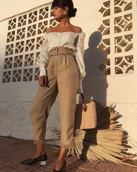 Уроки стиля Марии Бернад: смелые наряды и тонкий вкус. Фото