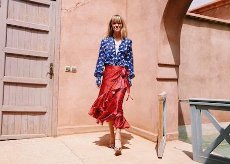 Уроки стиля Жаннетт Мэдсен: безупречность для блондинок