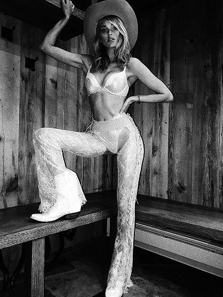 Victorias Secret показали, каким безудержным и дерзким может быть Дикий запад! Фото