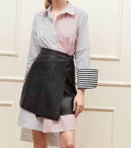 9 модных способов носить кожаную юбку этим летом. Фото
