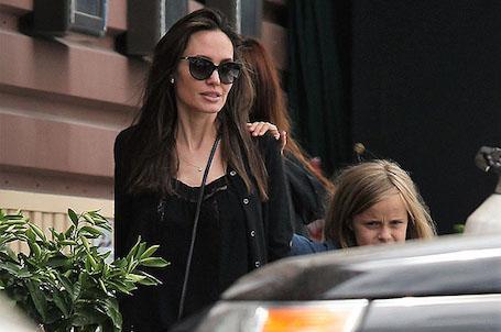 Анджелина Джоли вышла в свет после откровенного интервью о разводе. Фото