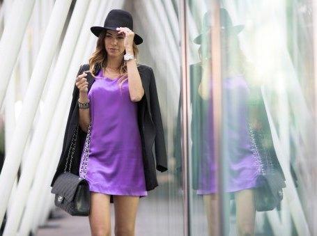 Хит уходящего лета: в тренде все оттенки фиолетового. Фото