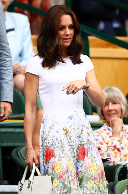 Кейт Миддлтон в элегантном мини-платье затмила всех на закрытии Уимблдона. Фото