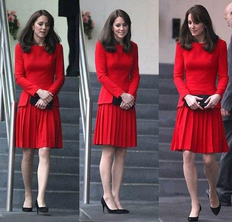 6 любимых нарядов Кейт Миддлтон за последние 6 лет! Фото