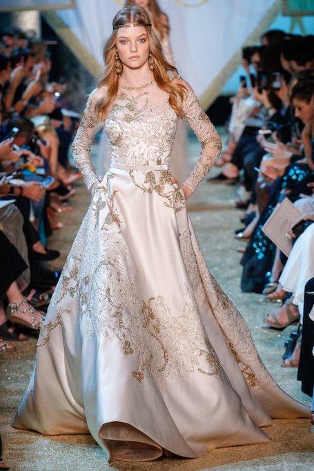20 лучших свадебных платьев с Недели высокой моды в Париже. Фото