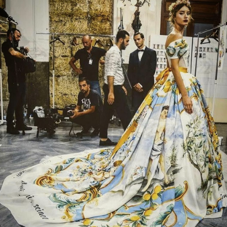 Браво, Доменико Дольче и Стефано Габбана: шоу-коллекция Alta Moda. Фото