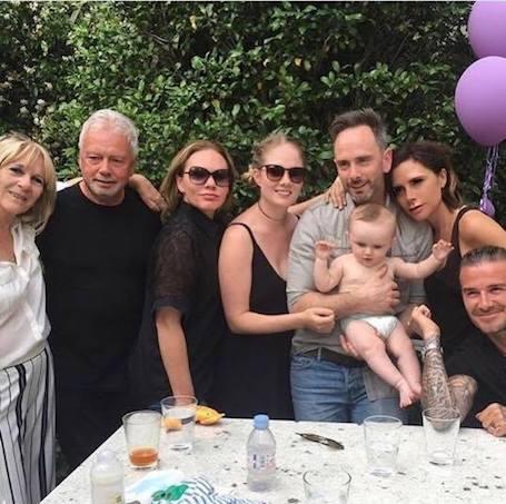 Дэвид и Виктория Бекхэм отпраздновали 6-летие дочери Харпер в кругу семьи. Фото