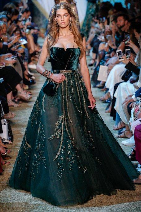 Богатства пещеры Сим-Сим: показ Elie Saab Haute Couture. Фото