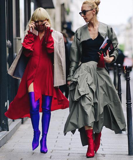 Звездный street style на Неделе высокой моды в Париже. Фото