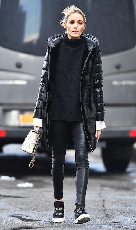 Звездный тренд лета 2017: мода на черные сникерсы. Фото