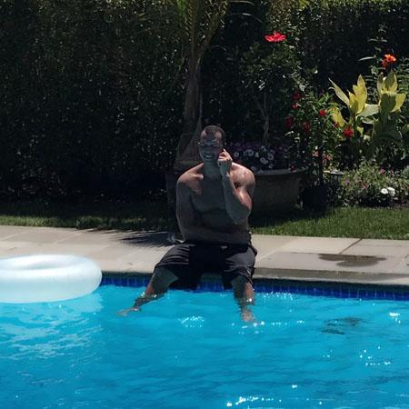 Дженнифер Лопес показала, как хорош Алекс Родригес в роли отца для ее детей. Фото