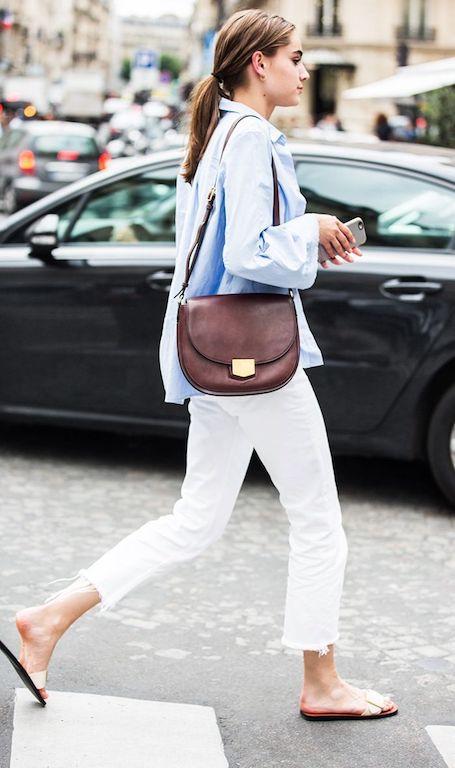 Тренд-сюрприз лета 2017: белые джинсы снова в моде! Фото