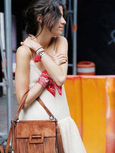Модный аксессуар: самые интересные идеи для банданы! Фото
