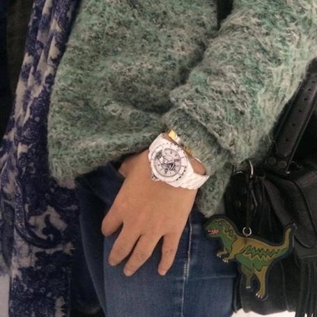 Объект желания: Chanel выпустил лимитированные часы Mademoiselle J12. Фото