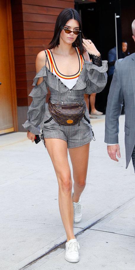 Кендалл Дженнер представила невероятный образ с акцентом на Louis Vuitton. Фото