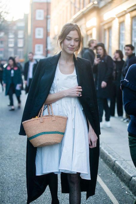 Выгодное приобретение — плетеная сумка, актуальна и летом, и зимой