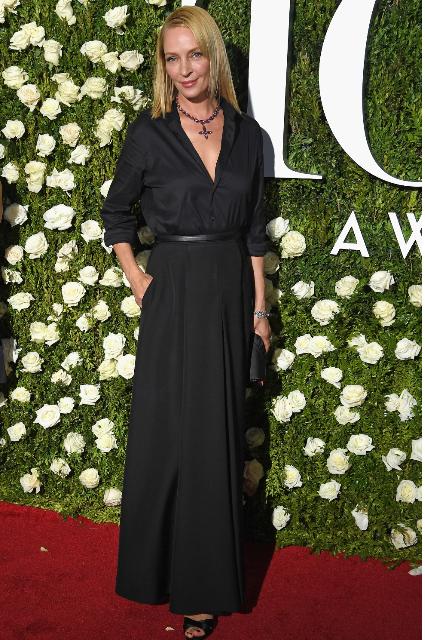 Образ звезды на Tony Awards-2017: Ума Турман переживает вторую молодость! Фото