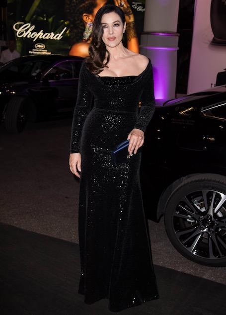 Дива из Канн: роскошная Моника Беллуччи блистает в черных платьях. Фото