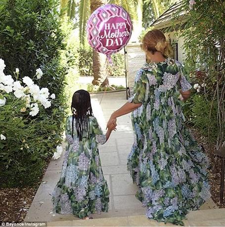 Бейонсе в последний раз появилась на публике перед рождением близнецов. Фото