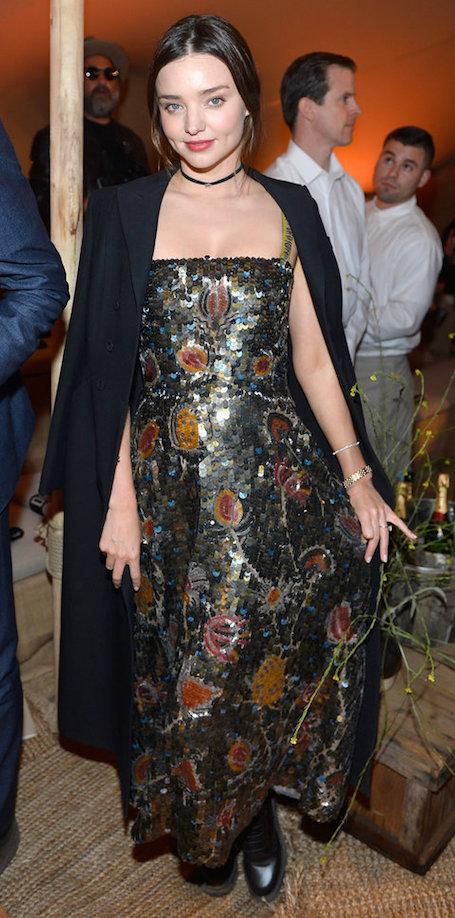 Миранда Керр в невероятном платье блистала на шоу Dior в Лос-Анджелесе. Фото