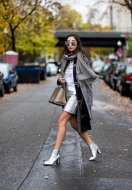 Модный тренд: как носить металлик этим летом? Фото