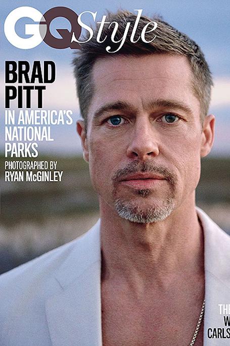 Несчастный и изможденный Брэд Питт снялся в странном фотосете для глянца. Фото