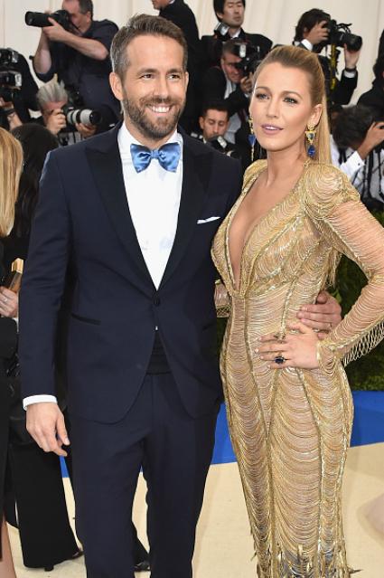 Блейк Лайвли и Райан Рейнольдс - самая блистательная пара Met Gala 2017! Фото