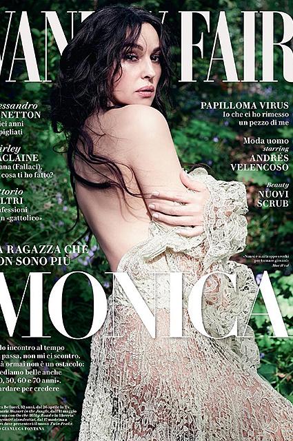 52-летняя Моника Беллуччи полностью разделась для Vanity Fair! Фото