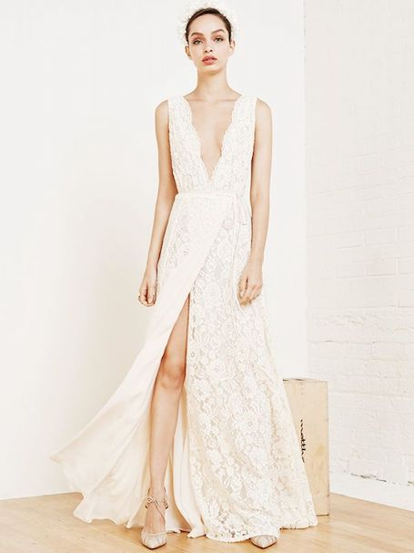 Свадебное платье в стиле бохо-шик — новый тренд в моде! Фото