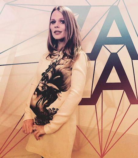 Беременная Ольга Фреймут показала, как сильно вырос ее живот. Фото