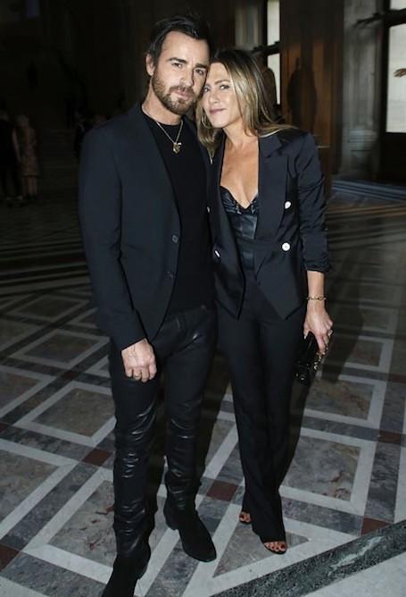Дженнифер Энистон и Джастин Теру произвели фурор в Париже. Фото