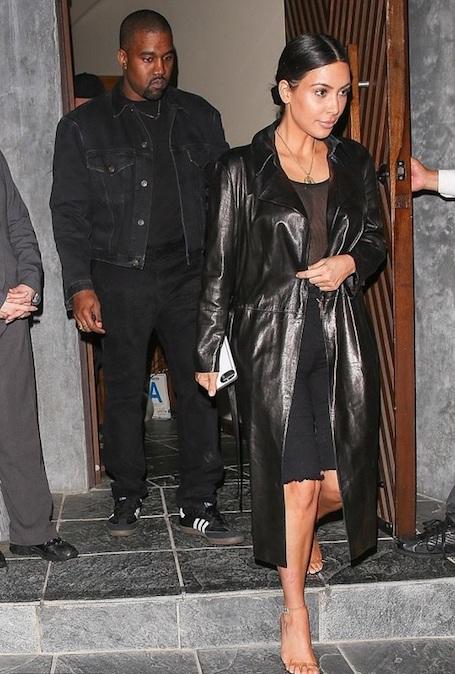 Ким Кардашьян и Канье Вест впервые за долгое время сходили на свидание. Фото