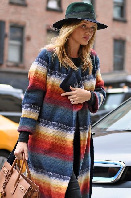 Беременная Рози Хантингтон-Уайтли диктует моду для будущих мам! Фото