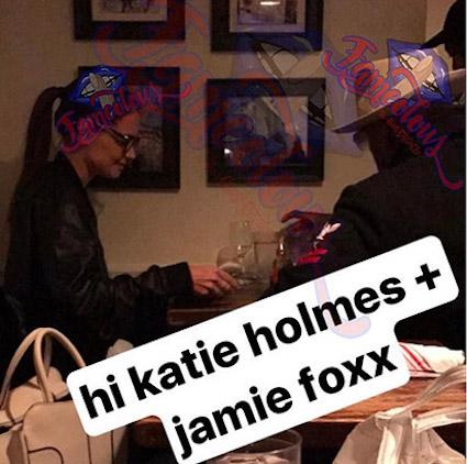 Уже не одна: Кэти Холмс застукали на свидании с Джейми Фоксом! Фото